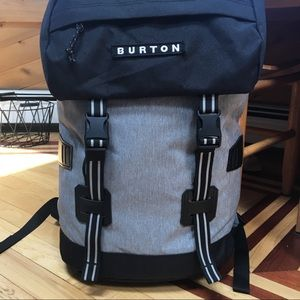 BURTON TINDER BACKPACK/Gray and Black/ 25L